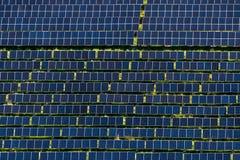 Ferme solaire Photos stock