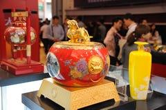 Cave nationale 1573, boisson alcoolisée célèbre de Chinois Image stock