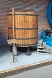 Fermentação do tambor do wort Fotografia de Stock Royalty Free