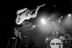 A fermentação (grupo rock britânico) executa no clube do biquini Fotografia de Stock
