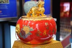 Sótano nacional 1573, licor famoso del chino Foto de archivo