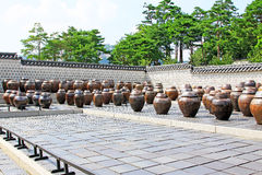 The Fermentation Jars In Gyeongbokgung Palace Royalty Free Stock Images
