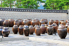 The Fermentation Jars In Gyeongbokgung Palace Stock Photos