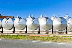 Fermentation tanks Stock Images