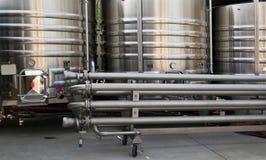 Fermentation vats Stock Image