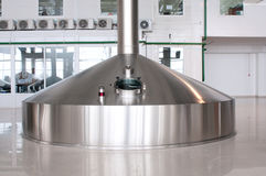 Fermentation vats Royalty Free Stock Photo