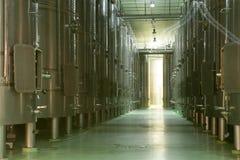 Fermentation Vats, La Rioja Stock Image