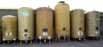 Fermentation vessels Stock Image