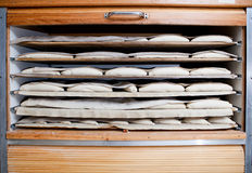 Fermentation wooden cabinet Royalty Free Stock Image