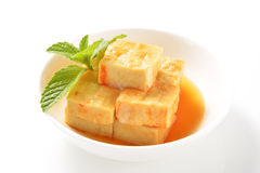 Fermented bean curd Stock Images