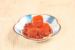 Fermented bean curd Stock Photos