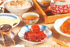Fermented bean curd Royalty Free Stock Image