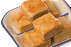 Fermented Beancurd Isolated. Isolated image of fermented beancurd Royalty Free Stock Photo