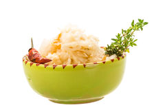 Fermented Cabbage Stock Image