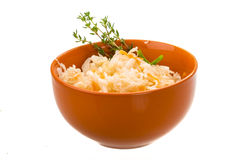 Fermented Cabbage Royalty Free Stock Photos