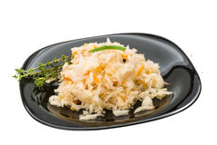 Fermented Cabbage Royalty Free Stock Photography