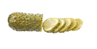 Fermented Cucumber Royalty Free Stock Photos