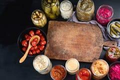Fermented ha conservato l'alimento fotografia stock libera da diritti