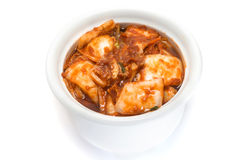 Fermented Korean food Kimchi Stock Photo