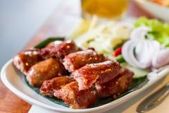 Fermented pork sausage Stock Images
