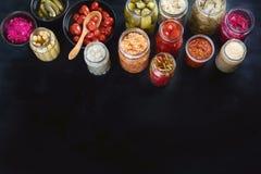 Fermented preservou o alimento fotos de stock