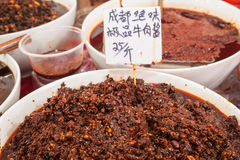 Fermented soy bean Royalty Free Stock Photo
