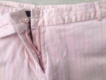 Fermeture éclair dans la culotte Photos stock