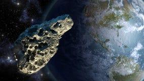 Fermeture en forme d'étoile sur terre illustration de vecteur