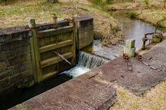 Fermez à clef l'objet exposé sur James River, Ridge Parkway bleu, la Virginie, Etats-Unis - 2 photos libres de droits