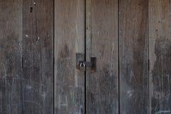 fermez à clef votre porte svp Photo stock