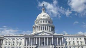 Fermez- du côté est du nous bâtiment de capitol dans DC de Washington photo stock