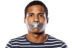 Fermez la bouche photos libres de droits