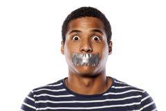 Fermez la bouche Image libre de droits