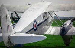Fermez-vous d'un avion de Bi de vintage Photos libres de droits