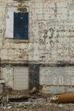 Fermez-vous d'un bâtiment décadent photo libre de droits