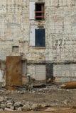 Fermez-vous d'un bâtiment décadent photographie stock libre de droits