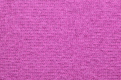 Fermez-vous d'un chandail fuchsia de mohair Photo stock