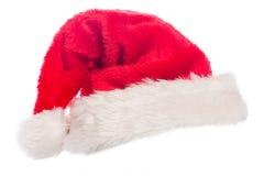 Fermez-vous d'un chapeau de Santa photo libre de droits