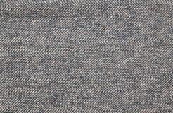 Fermez-vous d'un tissu brun de tweed photos libres de droits