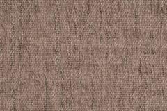Fermez-vous d'un tissu de laine de couleur beige Photographie stock