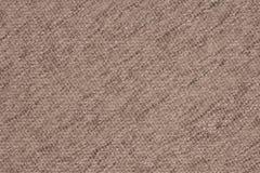 Fermez-vous d'un tissu de laine de couleur beige Images stock