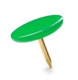 Fermez-vous d'une punaise de vert de cercle Image stock