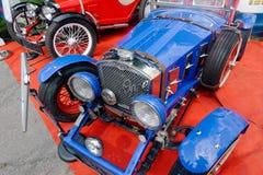 Fermez-vous de l'image courante automobile de vintage de Ford Photos libres de droits