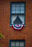 Fermez-vous de la fenêtre Lincoln Room photos stock