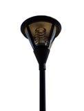 Fermez-vous de la lampe extérieure Photos stock