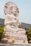 Fermez-vous de la statue de Bouddha. Images libres de droits