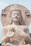 Fermez-vous de la statue de Bouddha. Photos libres de droits