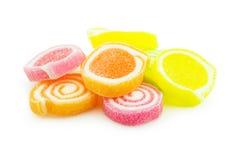 Fermez-vous de la sucrerie colorée Image stock