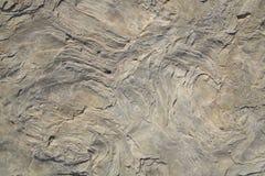 Fermez-vous de la texture complexe de la formation de roche comme fond Photo libre de droits