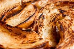 Fermez-vous des bagels grillés Photos libres de droits